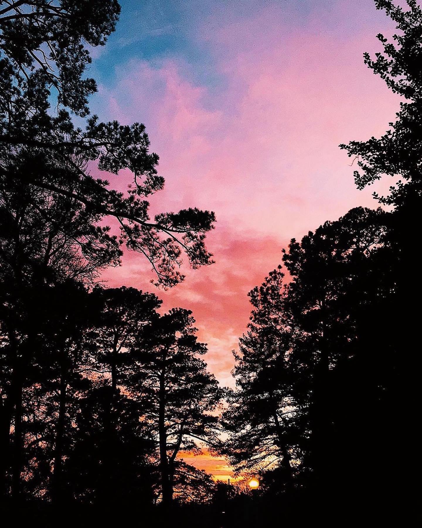 Can't beat a #URichmond sunset. #Repost @racheltrips ・・・ 📍University of Richmond