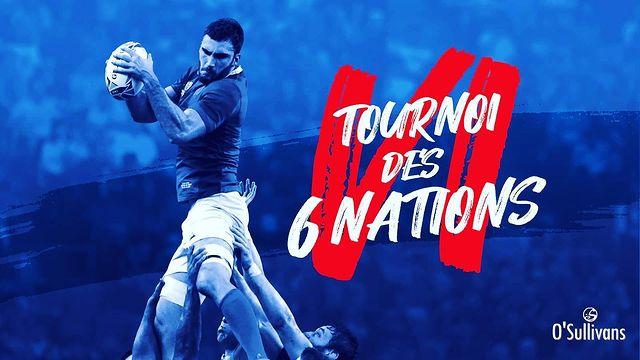 🏉 6 NATIONS 🏉 . À tous les fans de rugby d'un jour ou de toujours... preparez-vous ! Le tournoi des 6 nations débarque au O'Sullivans Franklin Roosevelt 🔥 .  Au programme : ⚾️ LIVE SPORTS 🍺 DRINKS 🍔 FOOD . Event Facebook ▶️ Link in BIO