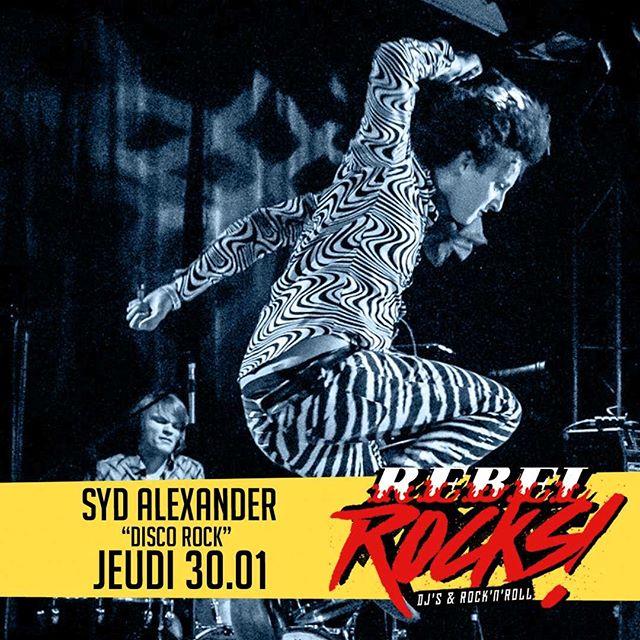 #booktonjeudi parce que c'est notre soirée #rebelrocks 🤘. . . 🎧 SYD ALEXANDER #discorock ! 🍺#beer 3.90€ #allnightlong . . #bestpubinparis #osullivans #oschatelet #rebelbar #irishpub #pubchatelet #lemarais #pubparis #parsibynight #djset #rockparty #party #followus #joinus #loveus 😘