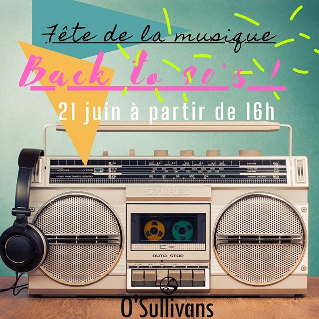 📼OH, SNAP! WHAT'S THE 411! WORD ON THE STREET IS BACK TO 90's! 📼⠀ ⠀ Rejoignez - nous pour la fête de la musique 🎶 ce dimanche à partir de 16h ! On va fêter toute la soirée comme si c'était les années 90 ! 🎉🕺💃 Sortez vos vêtements des 90's et vous aurez une belle surprise au bar ! 😉 ⠀ ⠀ - - ⠀ ⠀ As 2020 to date has been a year, 🙄 our team has decided to go back in time and party like its the 90's! 🤗 So rock your best 90's outfit and get special drink offers! Come live it up as we celebrate fête de la musique! 🎉🕺💃 It is going to be da bomb! 💣 See you Sunday! 😏 ⠀ ⠀ #osgb #osullivans #bar #irishpub #Paris #parisian #dance #fetedelamusique #grandsboulevards #90s