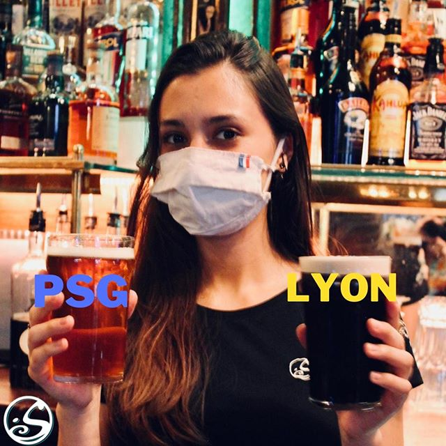 UN AUTRE DEUL À TRANCHER 🤺⠀ - - ⠀ ⚽️ Camilla veut savoir quelle équipe supportez vous ce soir ? ⠀ 🍺 PSG - Grimbergen / LYON - Guinness⠀ - -⠀ 🏆 Coupe d'envoi - 21H10 ⠀ 🍻 Happy Hour - 17H - 23H ⠀ 🍔 Food Service 19H - 22H ⠀ 🎧 Live DJ @d_jay_koi après match ! ⠀ ⠀ #osgb #osullivans #psg #Paris #lyon #sportsbar #irishpub #bar #football #happyhour #fridaynight #weekend #dance #soiree